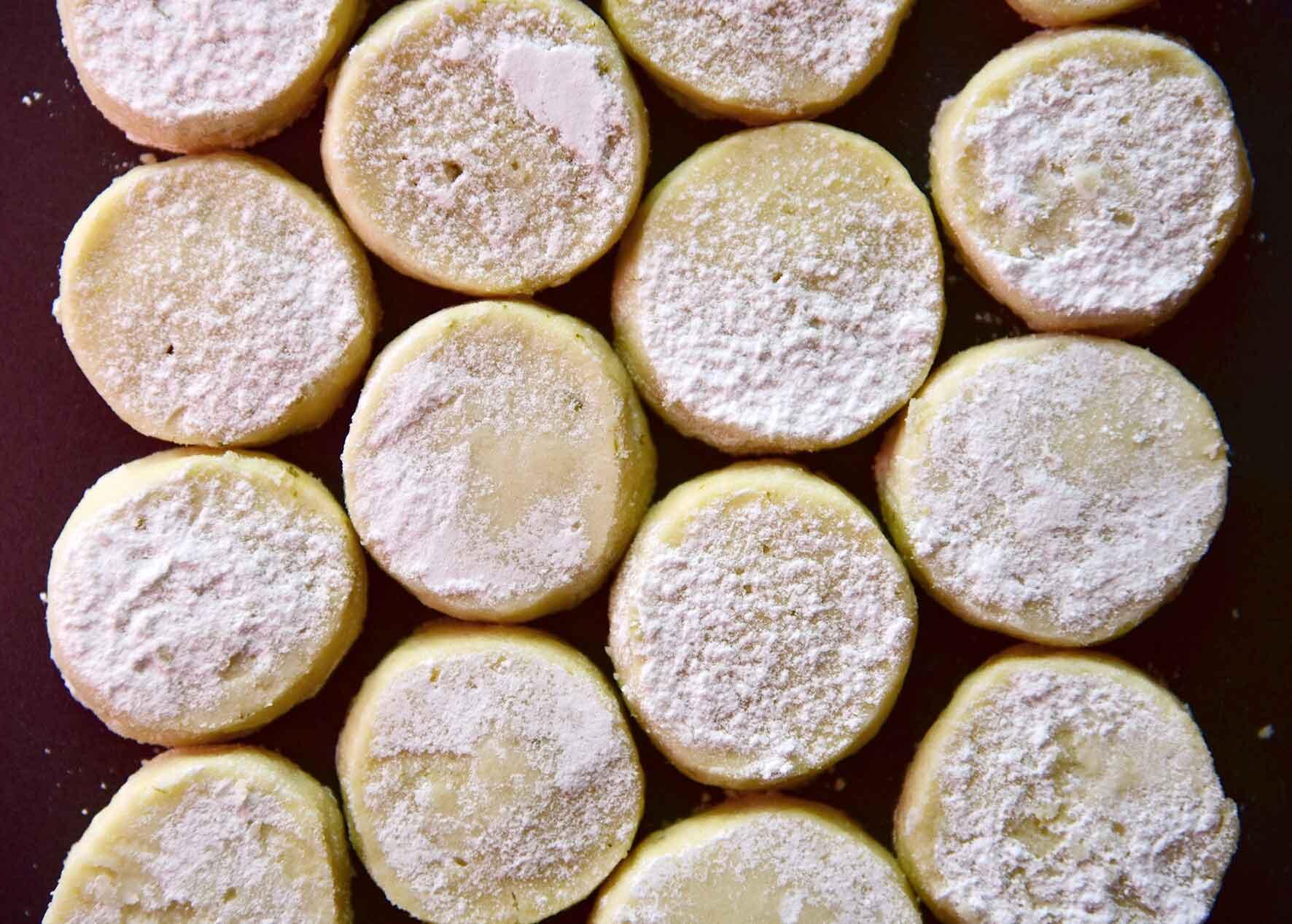 עוגיות ליים נימוחות