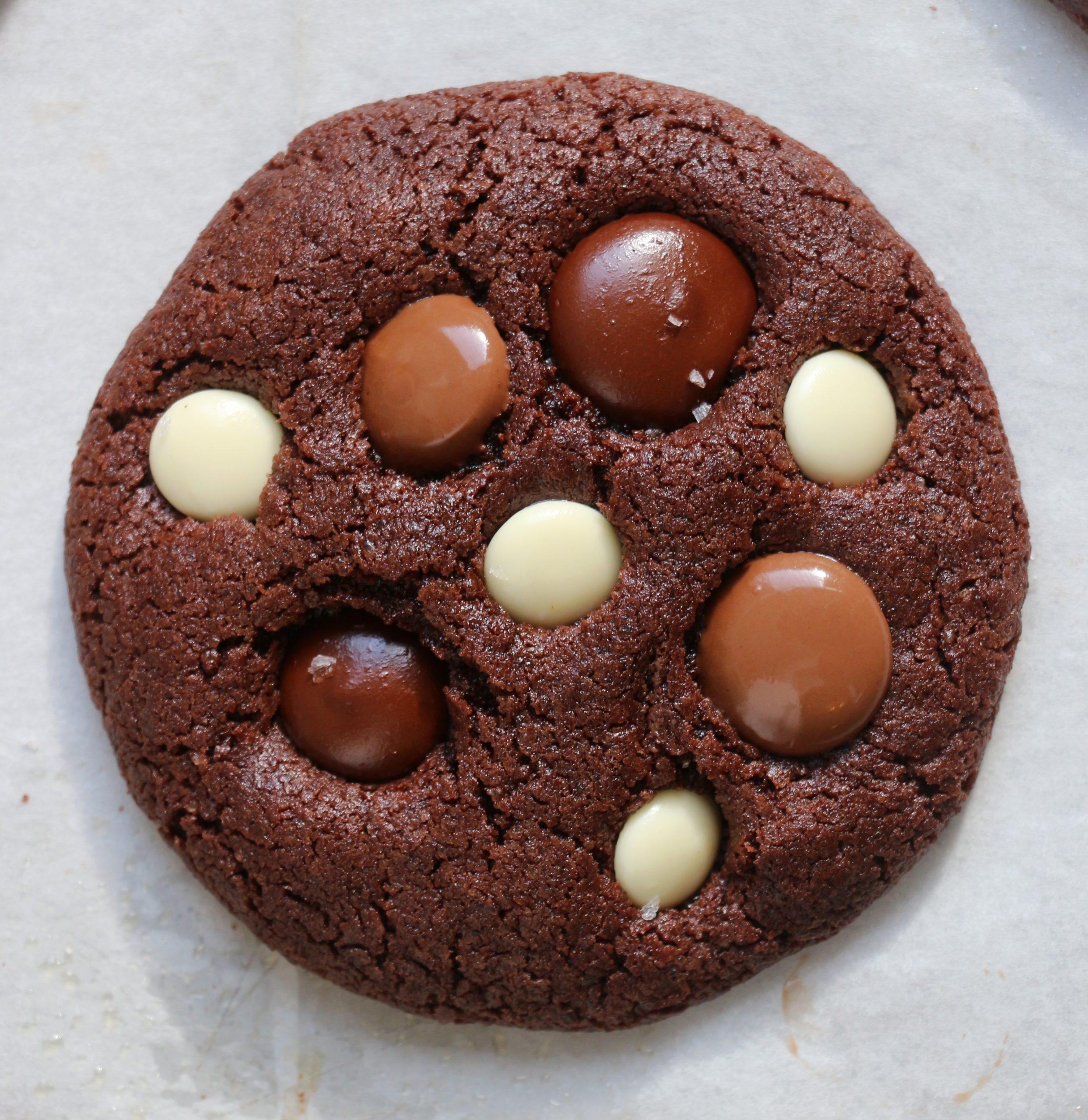 עוגיות טריפל שוקולד רכות