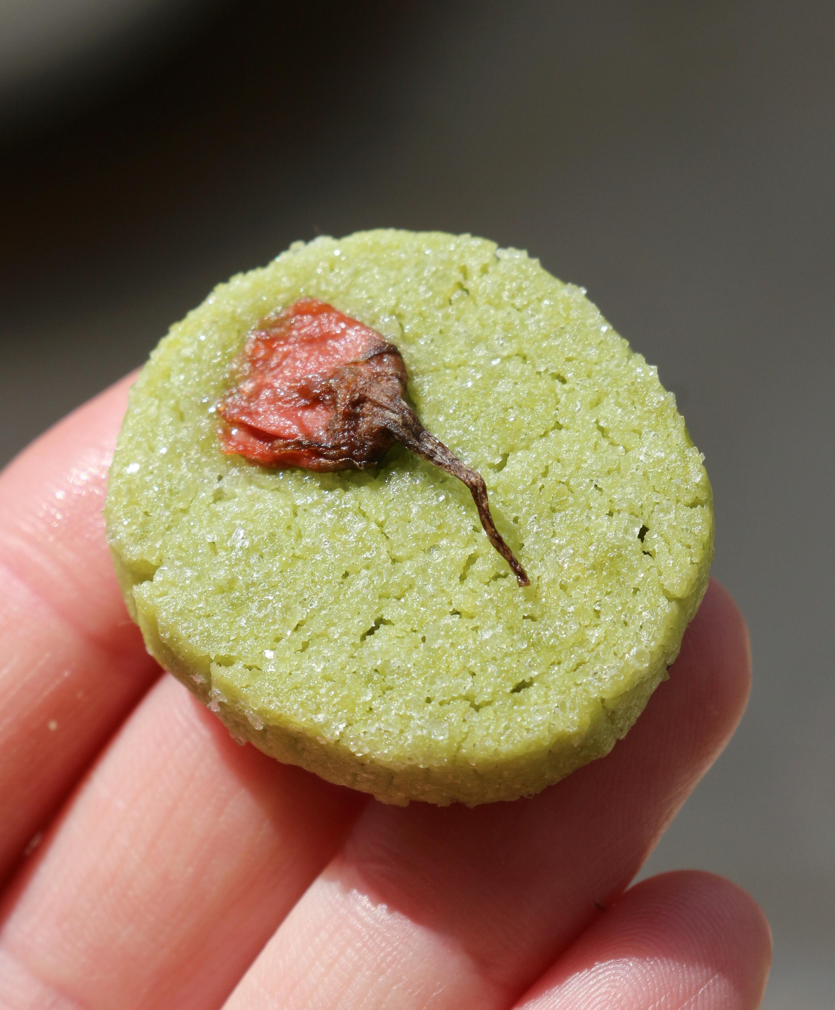 עוגיות מאצ'ה וסאקורה